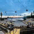 目玉は2つの野外劇場!ハドソン川沿いに人工の水上公園「リトルアイランド」誕生 (NEW YORK)